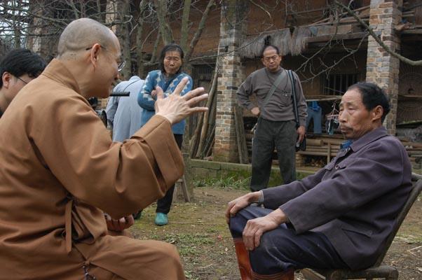 曾見過破壞前佛國寺的居民,極願佛國寺能重建