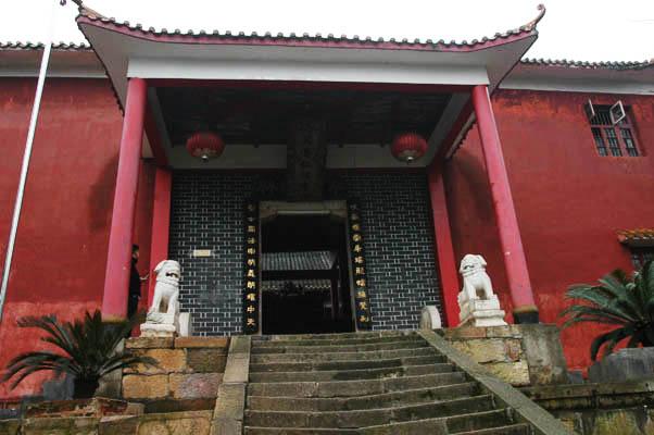 仁瑞寺山門。