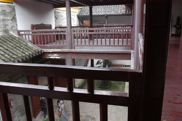 當年「南岳佛學講習所」(後擴充為「南岳佛教學院」)辦學的地方。
