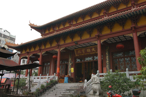 能仁寺(前廣西佛教會所)大雄寶殿