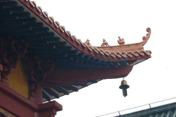 能仁寺(前廣西佛教會所) 大雄寶殿一角