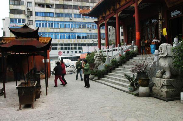 能仁寺(前廣西佛教會所) 寺坐落於桂林市區
