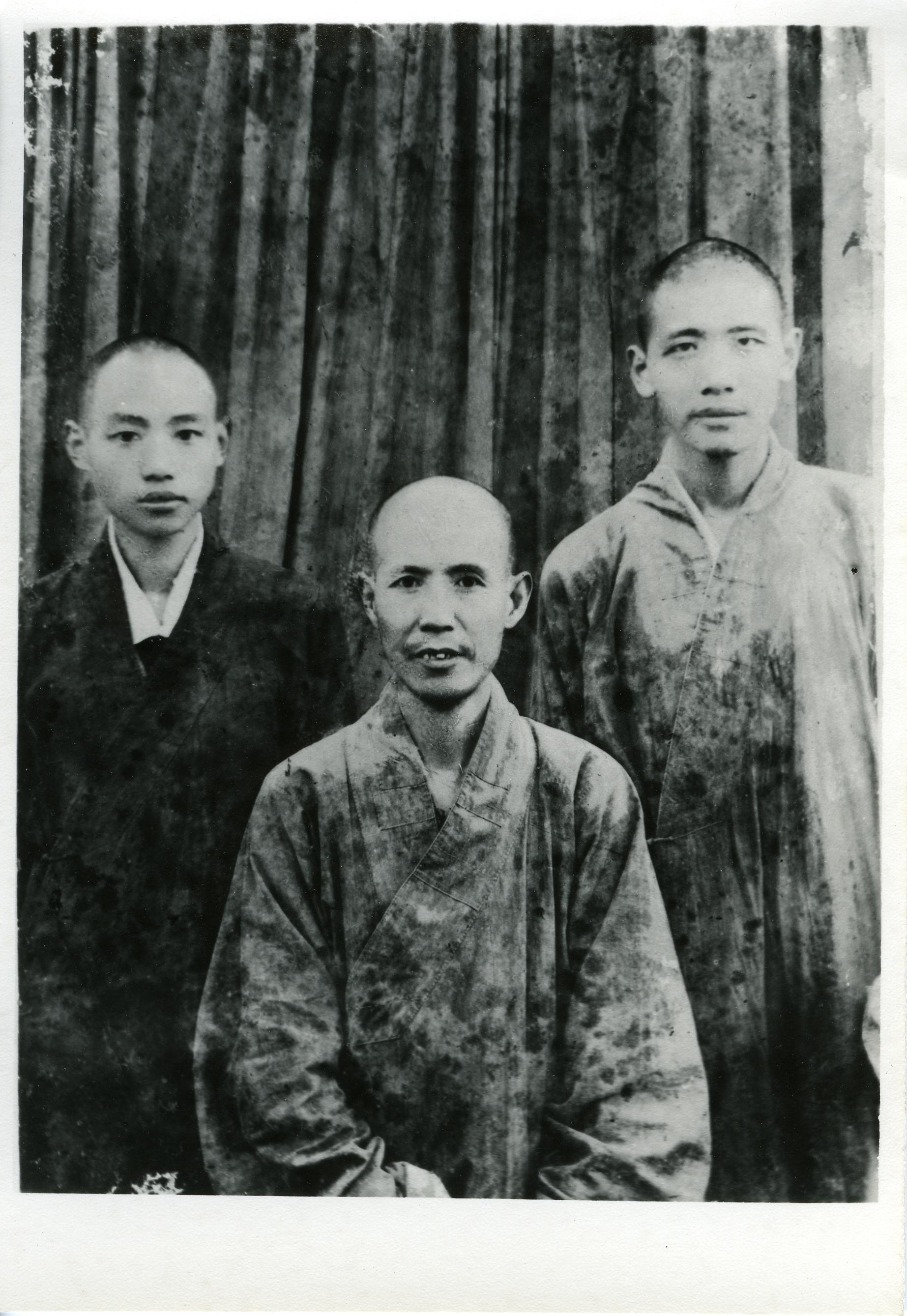 南岳佛學院三位中心人物