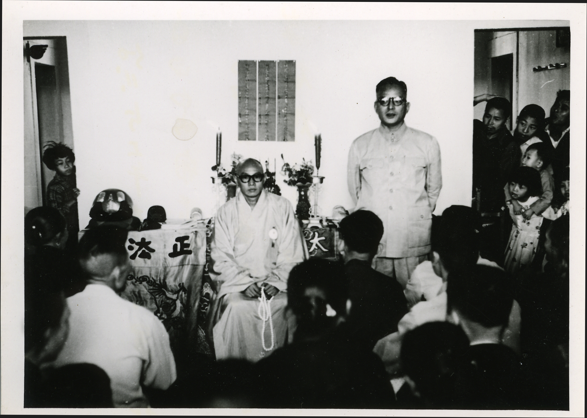 佛教界第一次金門勞軍活動
