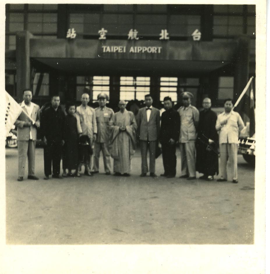 台北航空站前