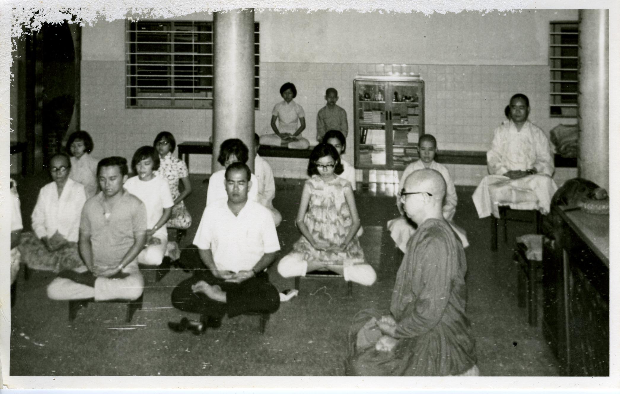 新加坡教靜坐
