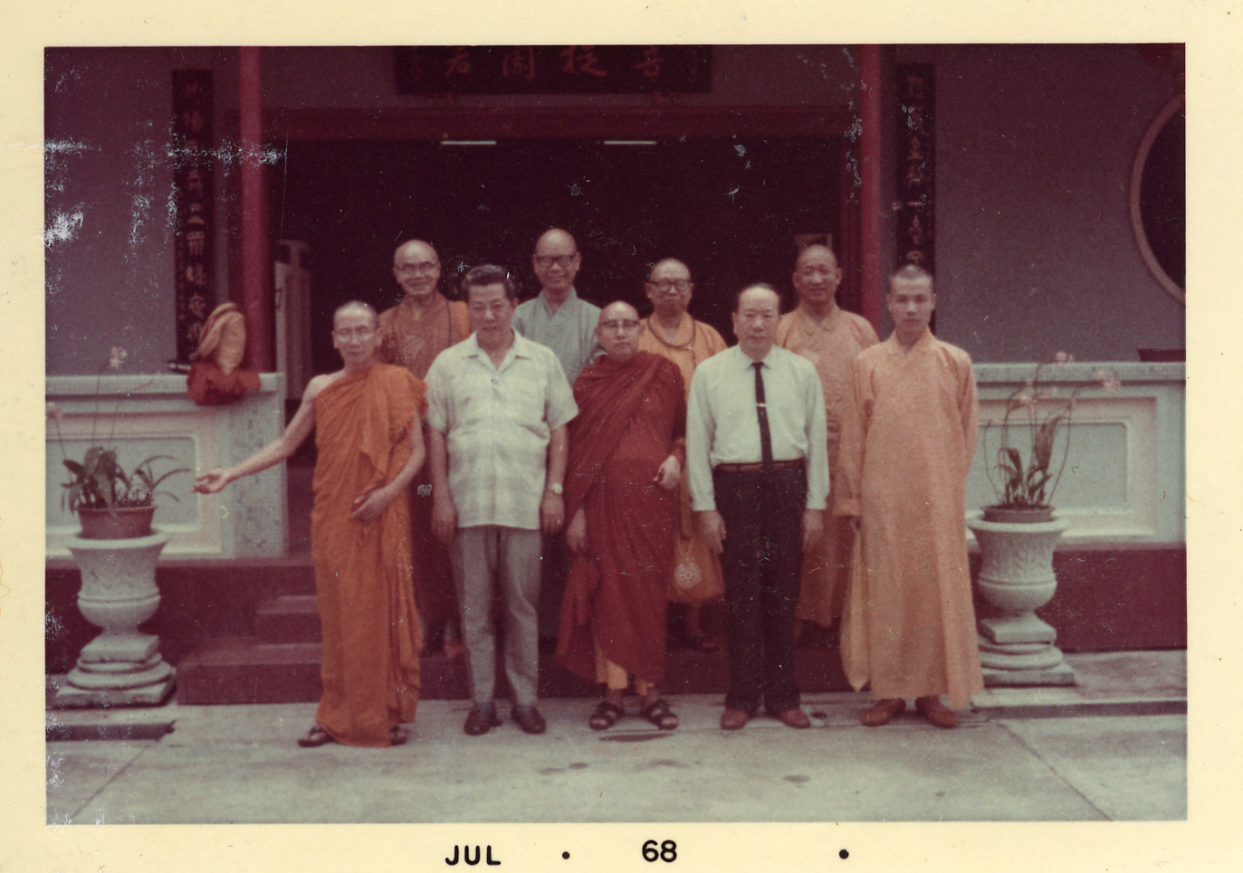 訪問新加坡菩提蘭若